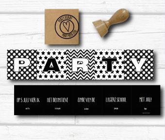 party schoolvertrek