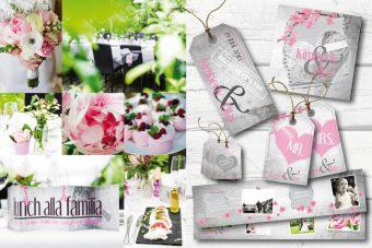 trouwhuisstijl stationery romantisch