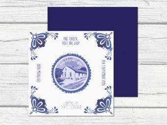 Verhuiskaart delfts blauw