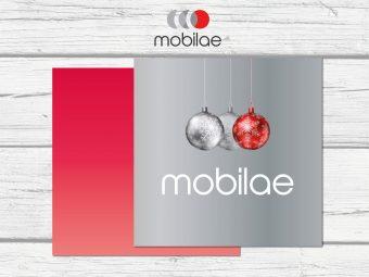 zakelijke kerstkaart met logo